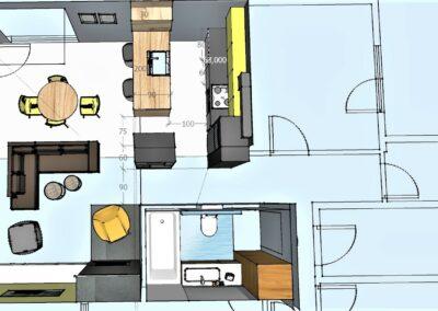 mieszkanie z góry